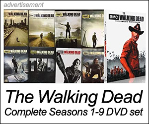 Walking Dead DVD set