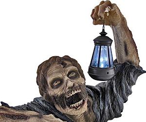 Beautiful Zombie Solar Powered Lamp