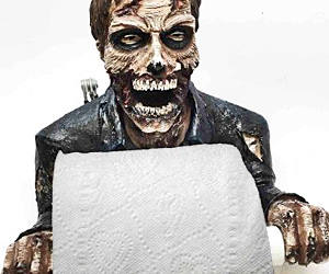 Zombie Toilet Paper Holder I Brain Zombies