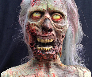 Real life zombie bust i brain zombies