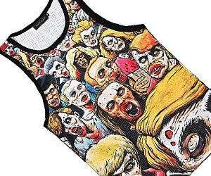 mens zombie print tank top - Zombie Pictures To Print