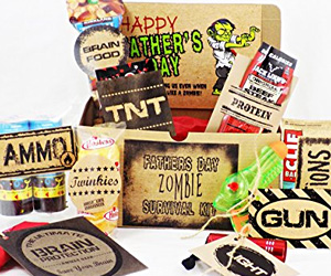 Father S Day Zombie Survival Kit I Brain Zombies