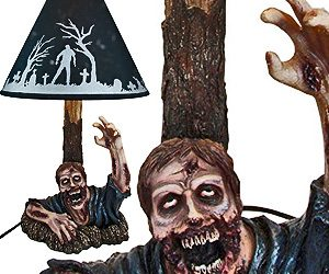 Zombie Rising From The Grave Lamp