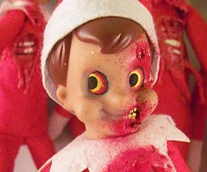 Christmas Zombie Elf On A Shelf I Brain Zombies